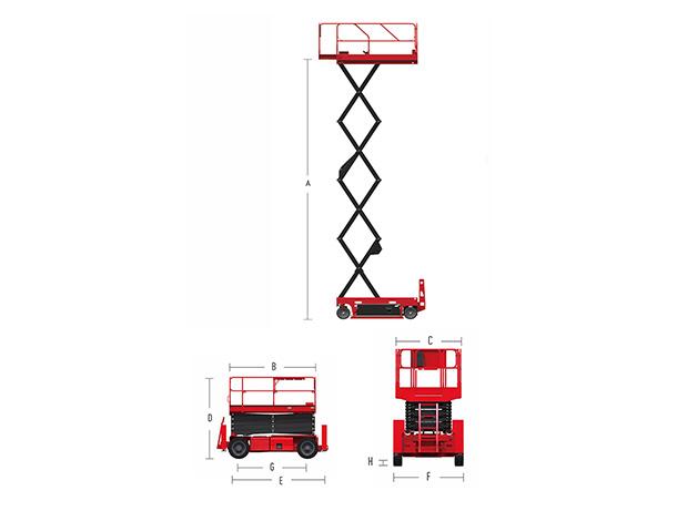Hydraulic Scissor Lift HS0808H
